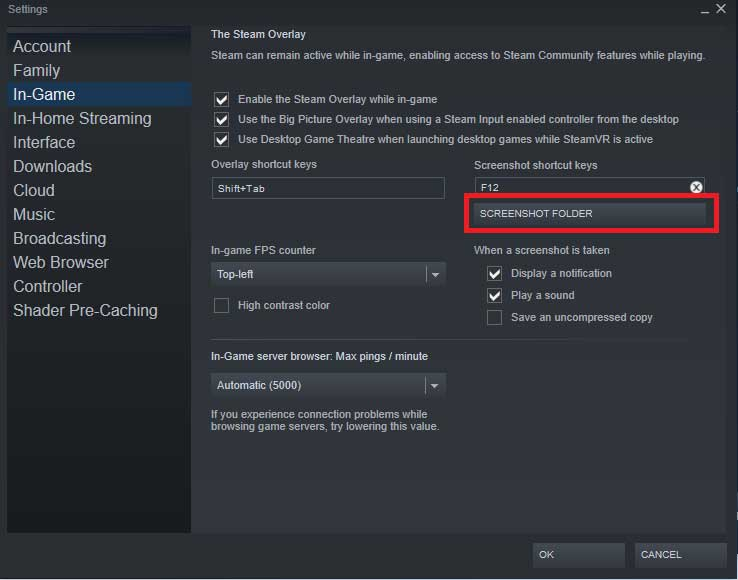 How to Access Steam Screenshot Folder: Where to Find it